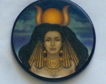 GODDESS HATHOR Talisman Amulet Egypt Witch Wicca