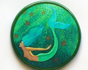 MERMAID'S DIVE Talisman Amulet Witch Wicca Fantasy