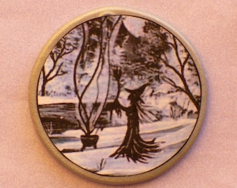 FOREST BREW Talisman Amulet Witch Wicca Pagan Gothic