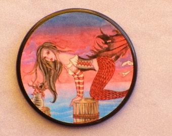MERMAID RONA Talisman Amulet Witch Wicca