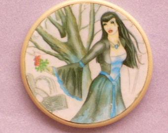 Gothic WINTER BRIDE Talisman Amulet Witch Wicca