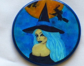 WITCHING HOUR Talisman Amulet Witch Wicca