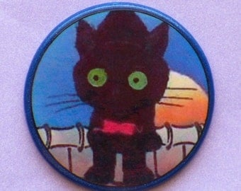 Vintage KITTY CAT Talisman Amulet Witch Wicca