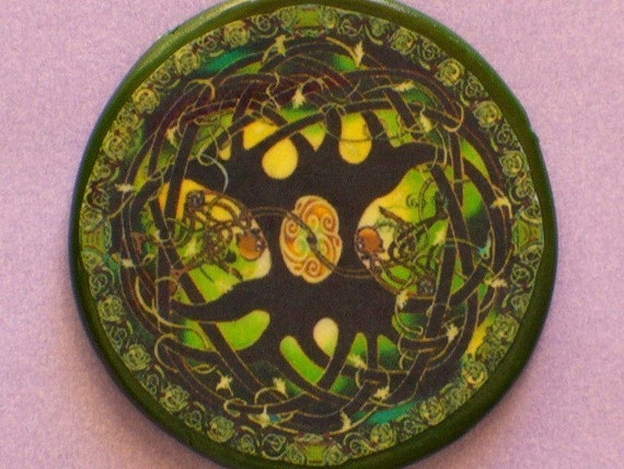 Celtic SKELETON TREES Talisman Amulet Witch Wicca Pagan Gothic