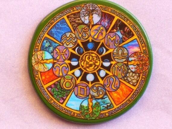 ZODIAC SEASONS Moon Phases Talisman Amulet