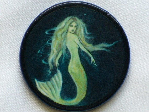 MERMAID MAIDEN Talisman Amulet Witch Wicca
