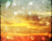 Sunset Sparkle 8x8 print
