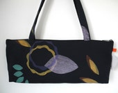 Rich Dark Blue Baguette Bag II
