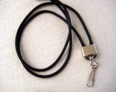 Paracord 550 simple Lanyard with silver tone swivel hook