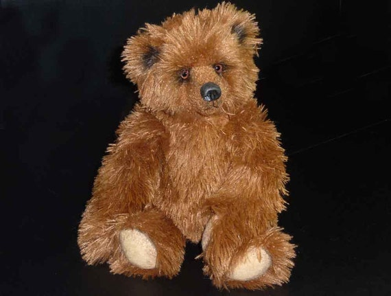 12 Inch Griswald, Artist Plush Alaskan Teddy Bear by Custom Teddys