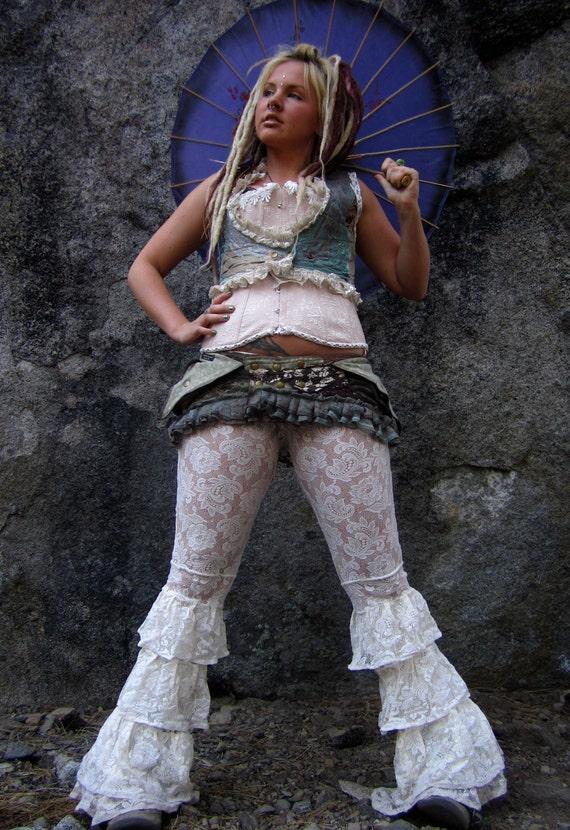 Pocket Belt Bustle Utility Belt Festival CLothing Skirt