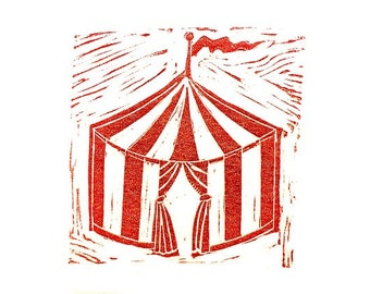 how to make a small circus tent