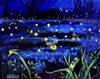 Fireflies - Print