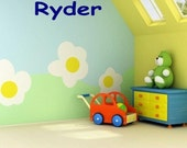 Personalized Child's Name Vinyl Wall Decal Sticker