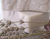 RESERVED for MONKEY THREADS  Lavender Sea Salt Handmade Soap - 7 oz