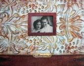 Scrapbook Album 12 x 12 vintage design