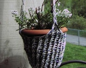 Hand-Knit Hanging Plant Holder