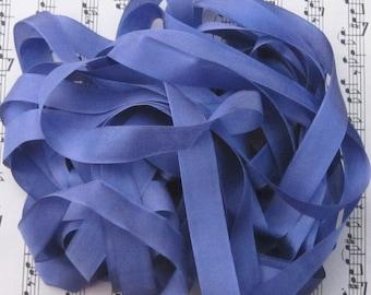 Pastel Indigo Silky Rayon Seam Binding Ribbon - 9 yards