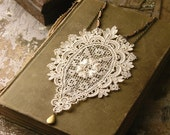 lace necklace - DARCY-