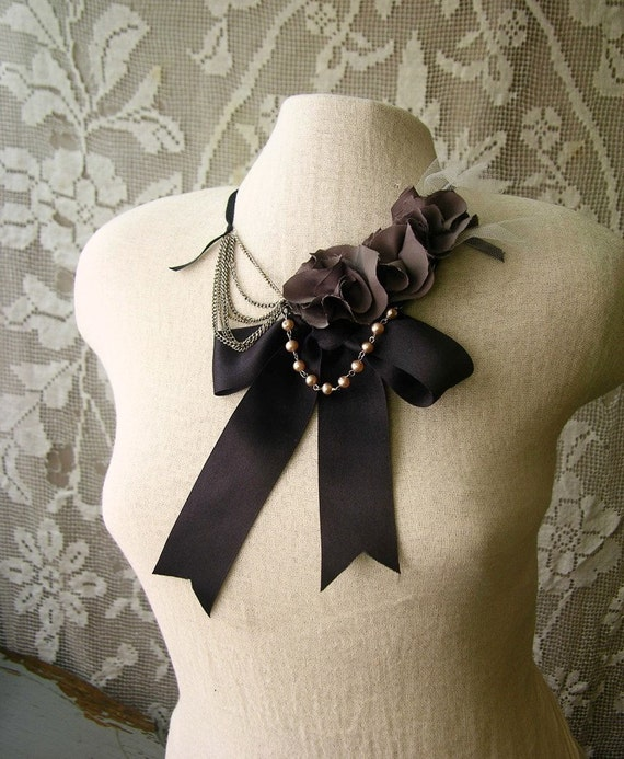statement necklace- qui qu'a vu coco (as seen in HUFFINGTON POST)
