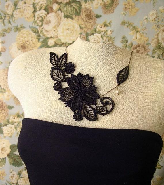 marichelle lace necklace
