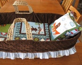 PDF Pattern How to Make your Own Lapped Moses Basket Bedding and Not Go Crazy