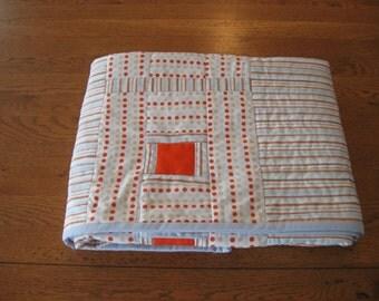 Modern Posh Tot  Baby Quilt designed by Blue Underground Studios