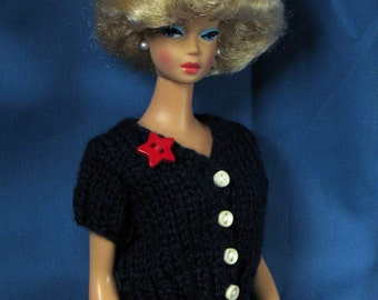 Barbie Clothes - July 4th Sweater and Skirt Set