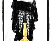 SKIRTSEE TM all black lace