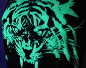 Tiger Glow in the dark unisex Tee - pick your size!