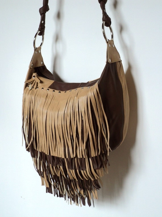 RESERVED FOR JEN Fringe Benefits - Large  Handbag