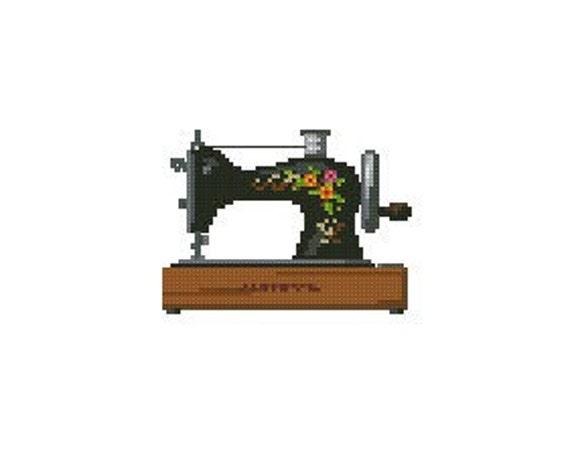 cross stitch sewing machine