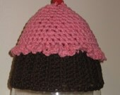 Cupcake Hat (0-3 months) CLEARANCE