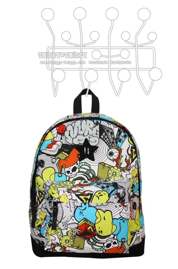 Twiggy-Twiggy Comic Book Toddler's Backpack