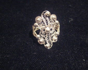 Filigree Sardinian Ring