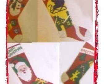 SAVE Four Pack Stocking Pattern Collection