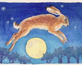 Magic Hare archival print