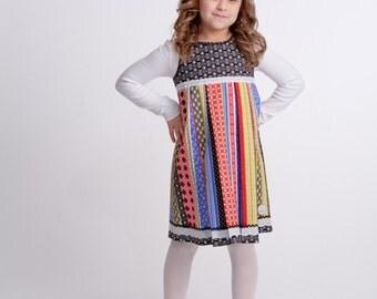 Floral Stripe Dress 6