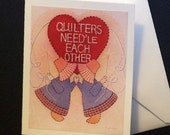 Note Cards for Quilters - Set of 3