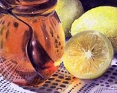 Honey and Lemon - Limited Edition Giclee Print