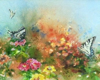 Flight of Fancy Limited Edition Butterfly Print