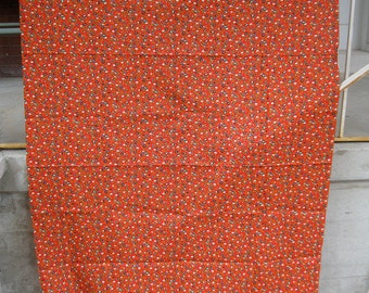 70s Calico Print Little Flowers Vintage Fabric 45w x 1.66 Yds