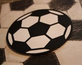 Soccer Ball 5 x 7 Greeting Card
