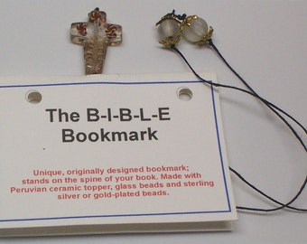 Clear Bible Bookmark