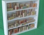 Rubber Stamp Adjustable Craft Shelf Organizer Custom Built