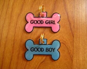 GOOD BOY or GIRL - optimistic doggie tag