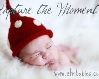 Newborn Baby Take Me Home Photo Prop Hat Hand Made Just For Baby Shower Gift