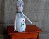 Cottage style Art Doll. Vintage style. Parlour doll