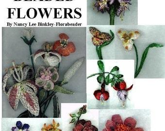 Victorian Beaded Flowers 12 Patterns Ebook