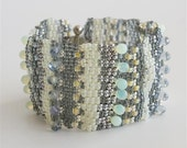 Grey Silver and Yellow  Bracelet